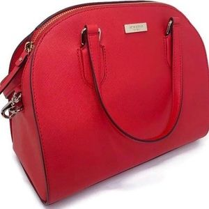 ❤️ Kate Spade Reilly Large Hot Chili Satchel